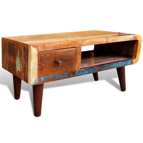 curved coffee table antique style reclaimed wood coffee table curved edge