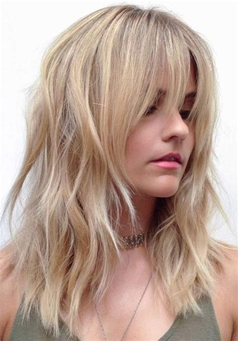 casual shaggy hairstyles done with curlingwands best 25 medium shaggy hairstyles ideas on pinterest