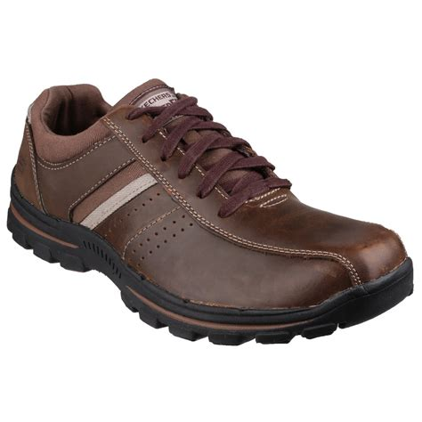 oxford shoes style skechers mens braver alfano lace up oxford style shoes ebay