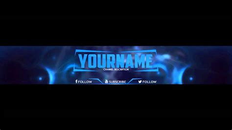 photoshop 2d banner template 2 youtube