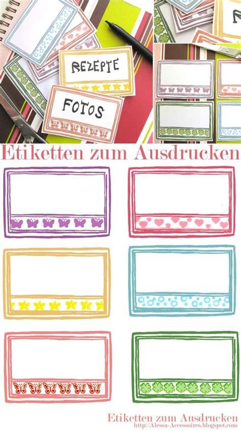 Etiketten Zum Beschriften Und Ausdrucken by Freebie Etiketten Zum Ausdrucken Handmade Kultur