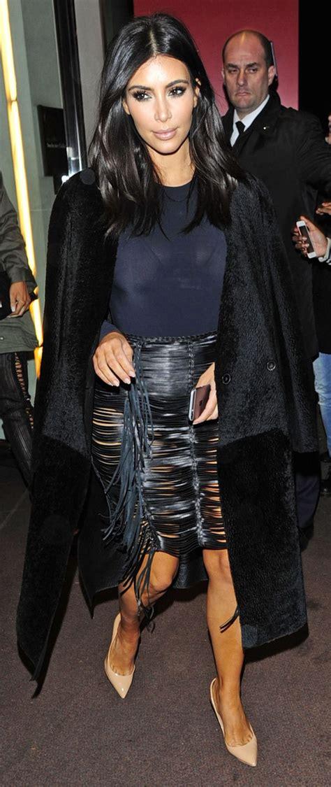 kim k hairdryer is kim kardashian s see through skirt really all that