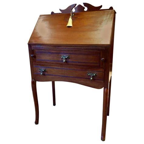 Antique Drop Desk by Antique Desk Edwardian Mahogany Drop Front Bureau Writing