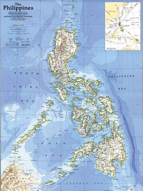 maps philippines detailed road and topographical map of the philippines