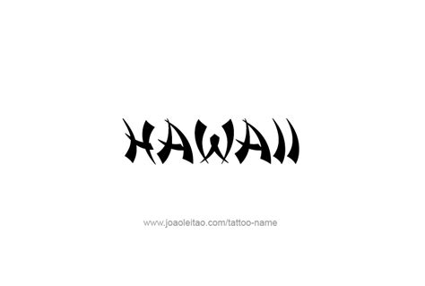 hawaiian font tangaroa font a tiki font from the david