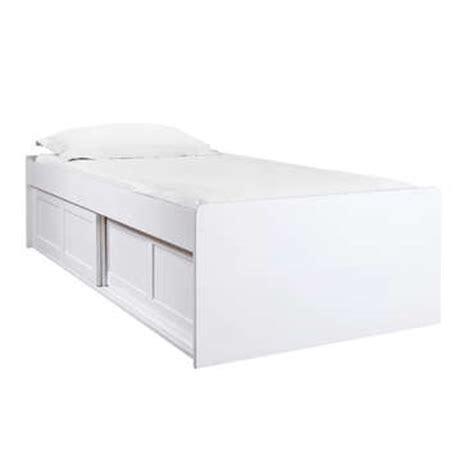 lit sur 233 lev 233 90x190 200 cm belem coloris blanc vente de