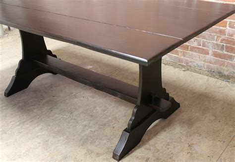 drop leaf farm with trestle ecustomfinishes