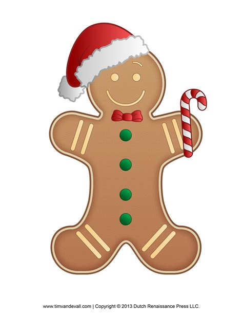 free printable gingerbread man border gingerbread man template clipart coloring page for kids