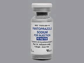 Protonic Medicine Pantoprazole Intravenous Information On Uses Side