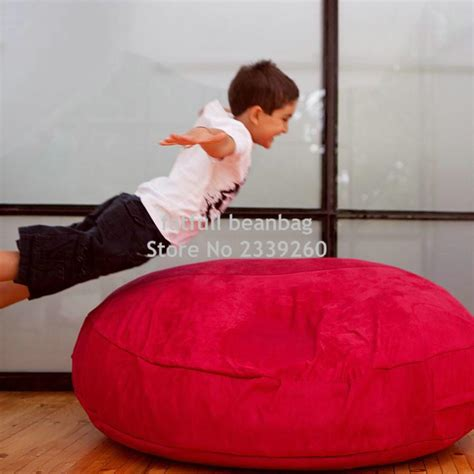 two seater bean bag sofa cover only no filler two room seat bean bag chair home