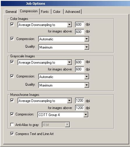 compress pdf distiller setting up acrobat distiller for printing