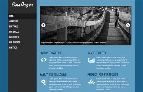 themes wordpress single page 26 simple beautiful single page wordpress themes hongkiat