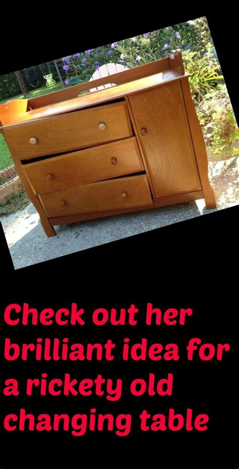 Repurposed Baby Changing Table To Kitchen Island For Her Repurpose Changing Table