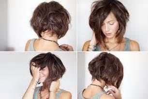 se couper les cheveux carr 233 plongeant