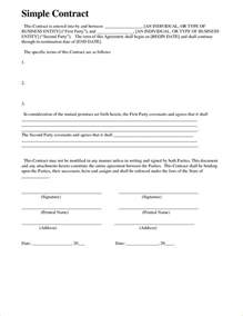 7 simple contractor agreement timeline template