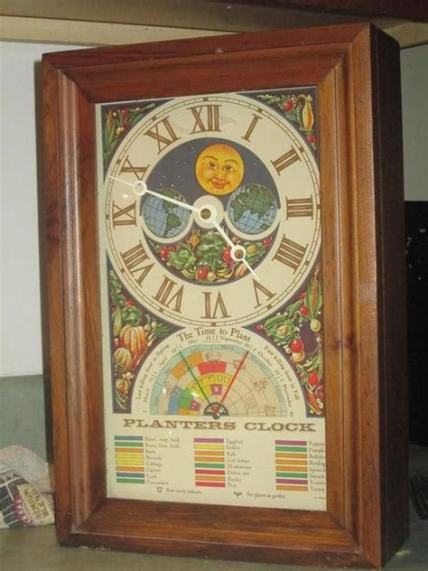 Planters Clock by Planter S Clock Clocks Clock Antiques And