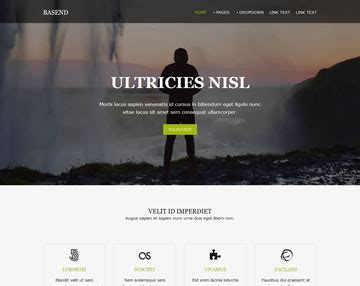 basend website template free website templates os