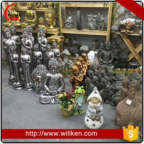 ornamenti da giardino ornamenti da giardino resina statua buddha in bronzo di