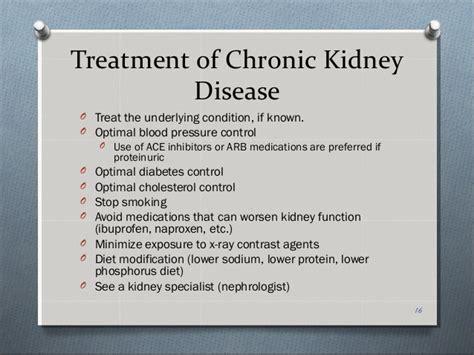 kidney failure treatment chronic kidney disease
