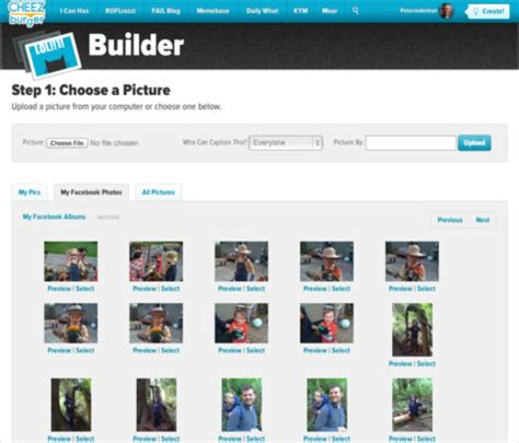 Cheezburger Meme Builder - cheezburger builder turns facebook photos into memes
