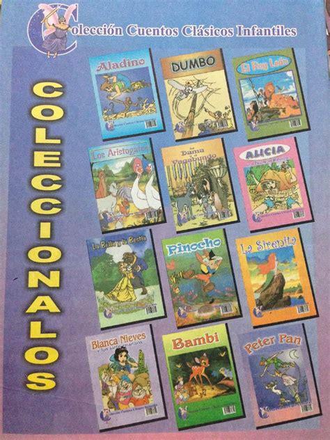 libro coleccion de cuentos para colecci 243 n cuentos cl 225 sicos infantiles 11 libros bs 700 000 00 en mercado libre