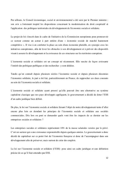Mba Esg Avis by Les Impacts De L Adoption Du Projet De Loi Relatif 224 L