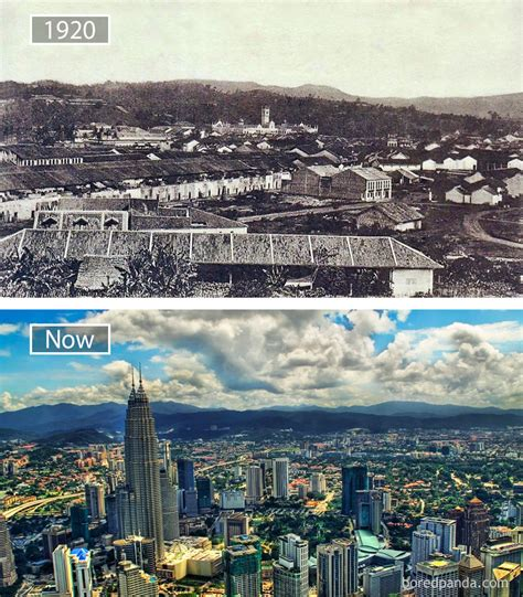 A Before 30 before and after pics showing how cities