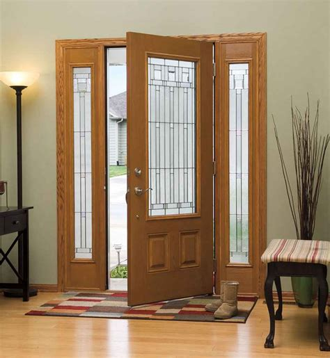 Cheap Wooden Front Doors Cheap Entry Doors With Sidelights Feel The Home