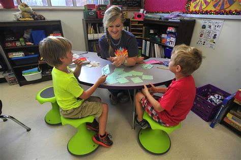 students get their wiggles out with custom classroom