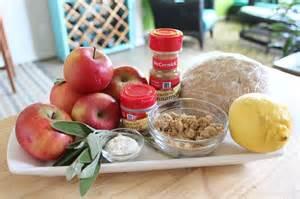 sage apple pie filling ingredients corkandspoon