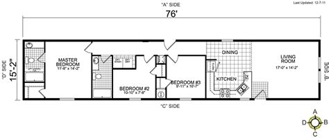 single wide mobile home floor plans bestofhouse net 34265
