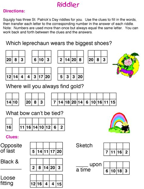 st s day riddle puzzle