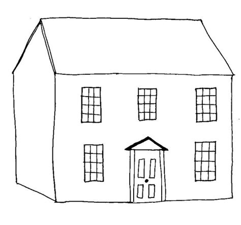 coloring pages of houses house coloring picture coloring