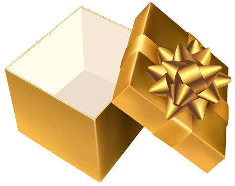 Gift Opening - gold open gift png clipart best web clipart
