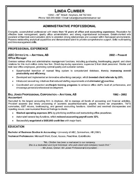 exle of administrative assistant resume administrative assistant resume sle will showcase