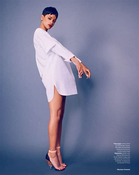 rihanna by mariano vivanco magazine photoshoot for uk