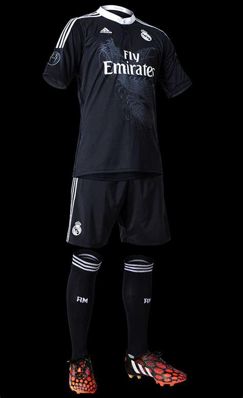 imagenes del traje del real madrid esta es la tercera camiseta del real madrid 2014 2015