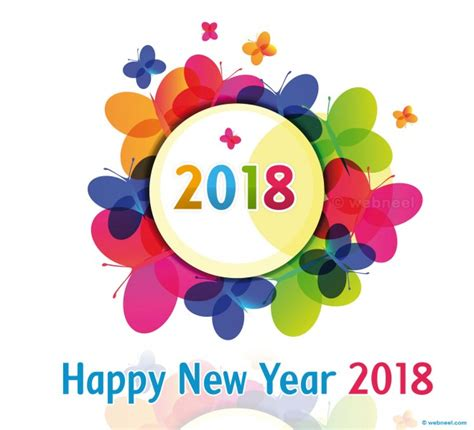 new year 2018 school 60 beautiful new year greetings card designs for your