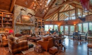Luxury mountain log homes luxury log cabin homes interior interior