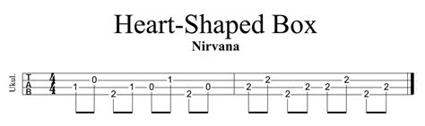 heart shaped tattoo ukulele chords heart shaped box by nirvana ukulele lesson ukulele go