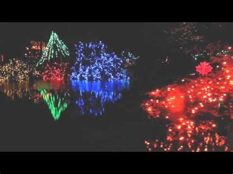 bright nights christmas train vancouver stanley park canada youtube