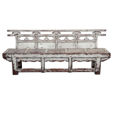 antique chinese bench antique chinese weathered theater bench for sale at 1stdibs