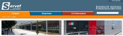 oficina de empleo valencia www servef es
