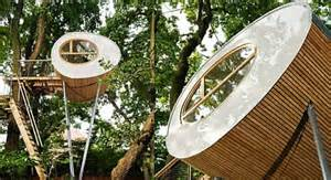 baumhauser amazing prefab treehouses by baumraum