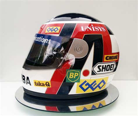 Shoei Suzuki Helmet Aguri Suzuki 1991 Shoei Grv Replica Now Sold