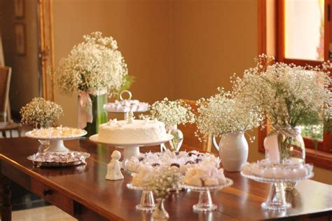 Baptism Table Decorations by Christening Table Decoration Style