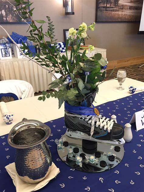 hazeltine blog sports banquet centerpieces hockey
