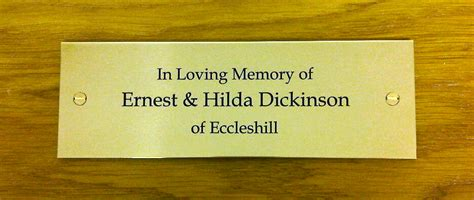 brass plaques for benches brass plaques for benches commemorative plaques engraved