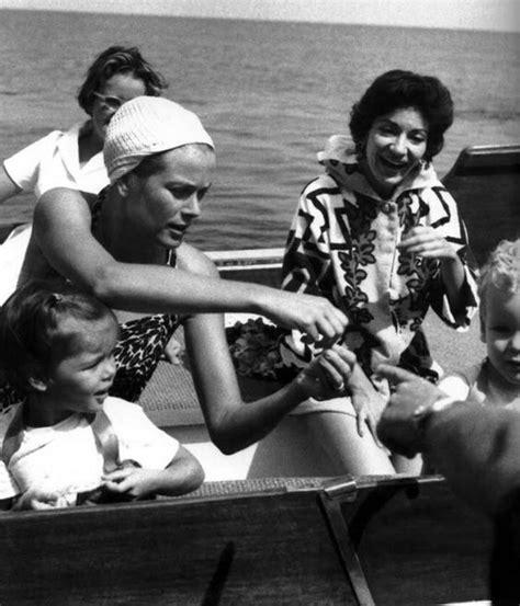 maria callas and grace kelly princess grace and maria callas on a vacation at sea