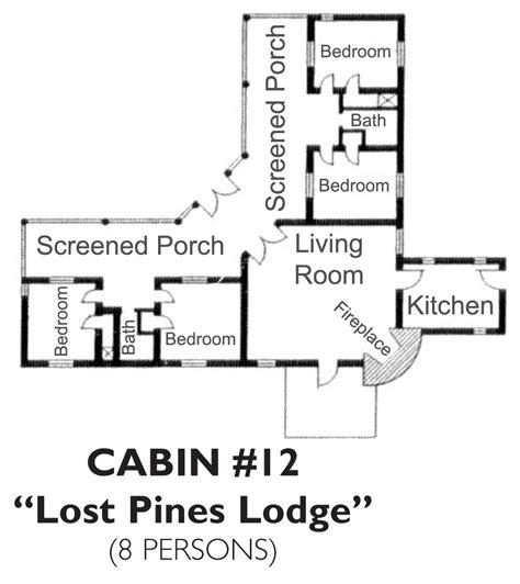 Bastrop State Park Cabin 12 Quot Lost Pines Lodge Park Cabin Floor Plans